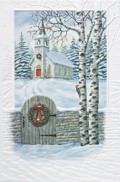 pumpernickel press embossed deluxe christmas cards