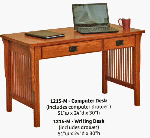 Ames Woodworking Home or Office Desks