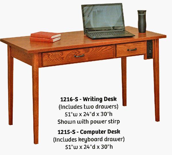 Fantastic Ames Woodworking Home or Office Desks CD35