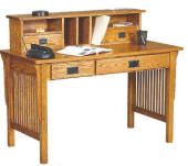 ames mission style occasional furniture