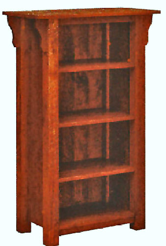 oak of bookcase red sloan pine solid luxury annie shabby chic painted