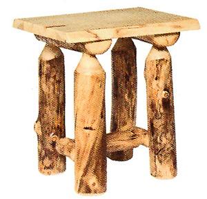 Aspen Log Occasional Furniture