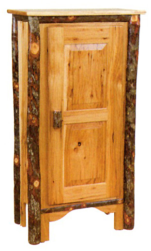 Byleru0027s Rustic Oak U0026 Hickory. Single Door Pie Safe