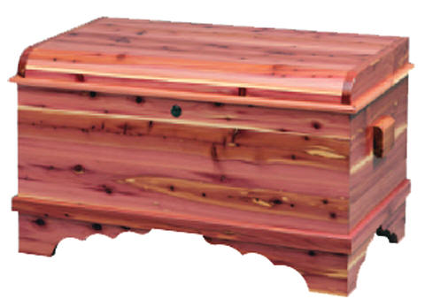 small all aromatic red cedar chest