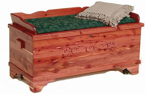 Amish hand made all cedar for Cedar ridge storage