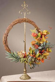 Wreath Stands Adjustable