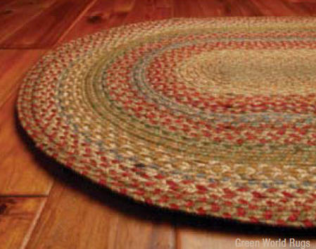 Azalea Jute Rug   (Click Here For Close Up Of Pattern Colors)