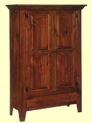 Double Jelly Cupboard W/Raised Panel Doors