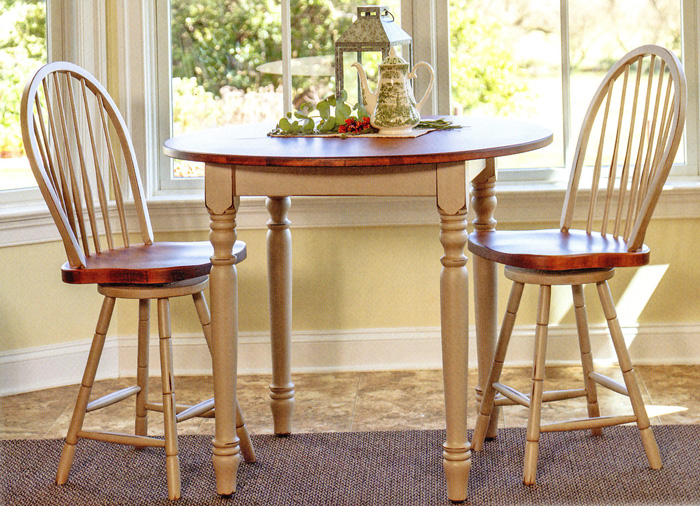 J J Woodworks Harvest Farm Tables Chairs