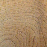 Natural on Curly Maple