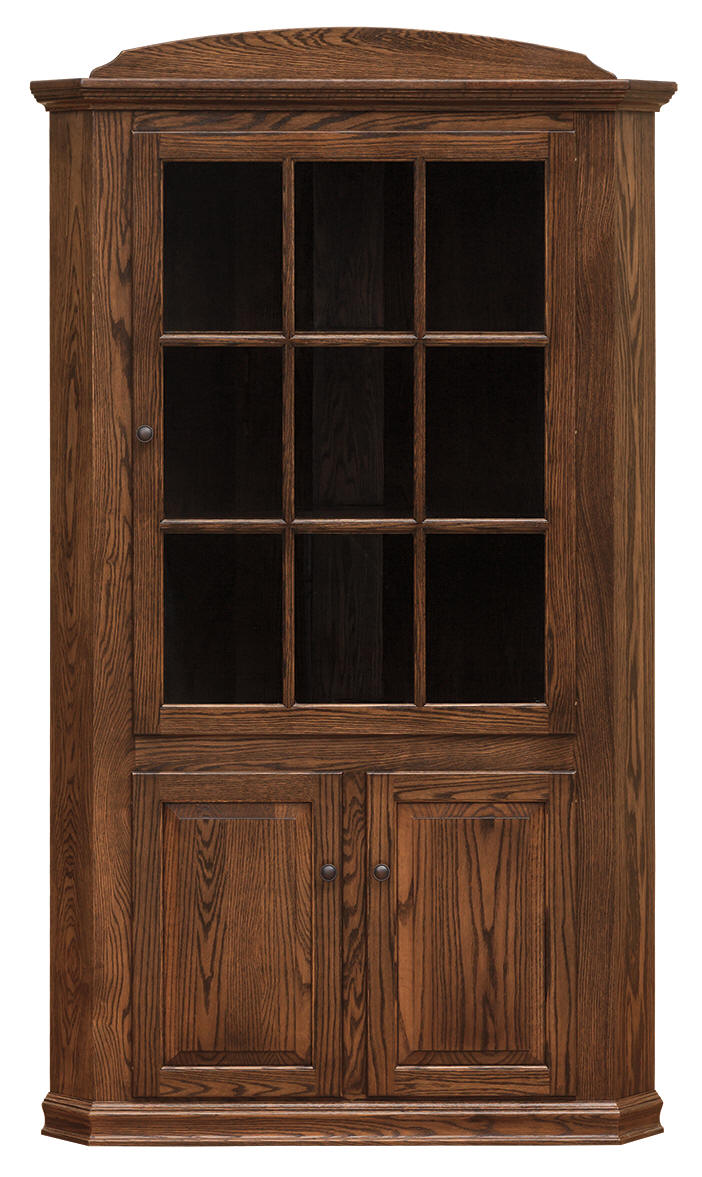 Amish Cabinet Doors Corner Cupboards Collection Amish Made In Pa