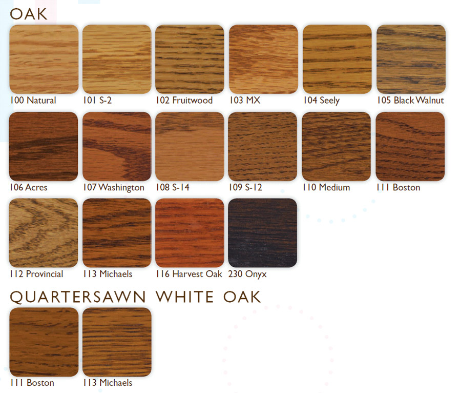 Oak Floor Stain Color Chart 28 Images Lagler Australia