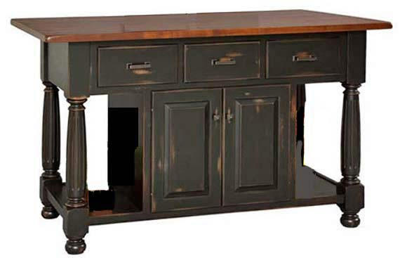 Kitchen Island 36 X 60 kitchen islands from all our amish craftsman