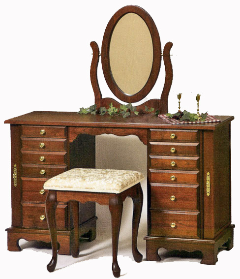 Cherry wood dressing table suppliers