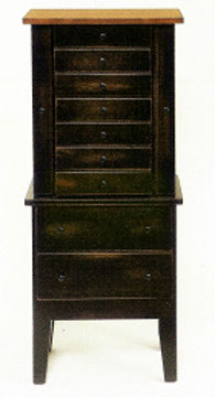 Primitive Jewelry Armoire