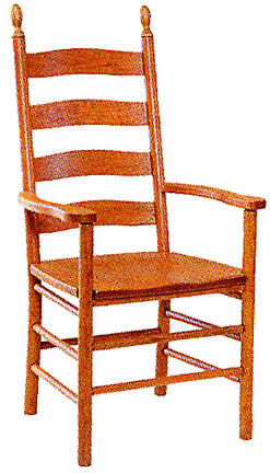 Shaker Ladder Back Chairs   Style 27W