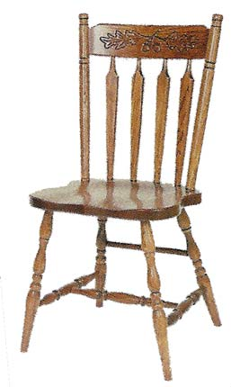 Penns Creek Kenton Chair Company Hardwood Chairs