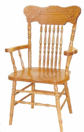 Pressed Back Chairs   Style 505