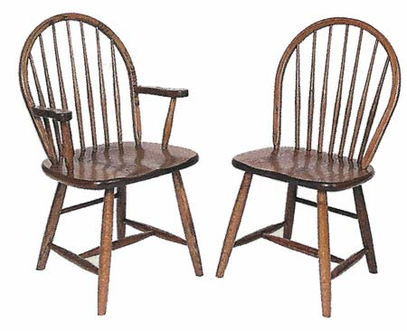 Shaker Windsor Chairs   Style 23