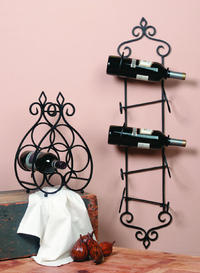 Keller Table Top & Wall Mount Wine Racks