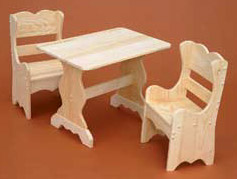Amazing Finished U0026 Unfinished Pine. Childrenu0027s U0026 Doll Furniture