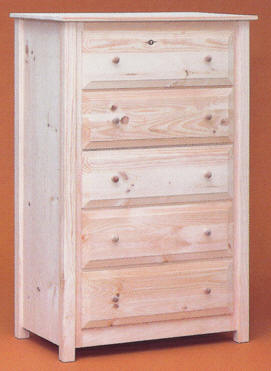 Finished Unfinished Pine Bedroom Furniture