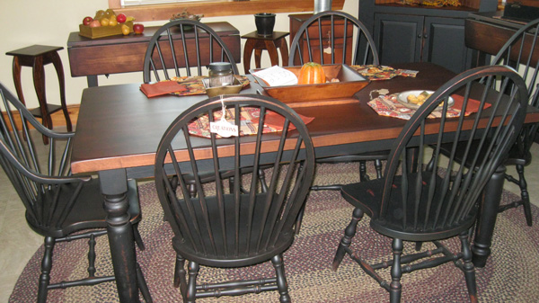 Harvest Farm Tables From All Our Amish Craftsman