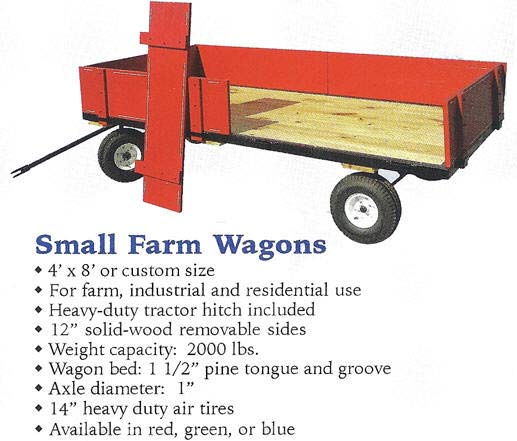 Valley Road Woodworks Amish Speeder Wagons for Fun & Work