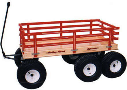 Valley Road Woodworks Amish Speeder Wagons For Fun Work