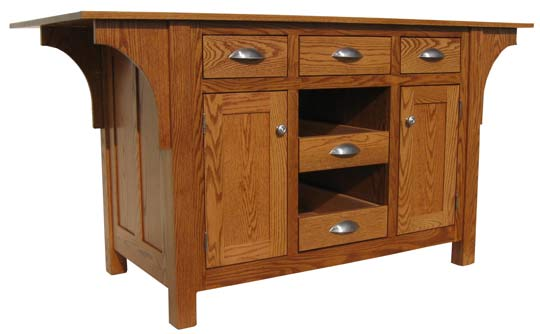 Kitchen Islands From All Our Amish Craftsman - Amish kitchen island