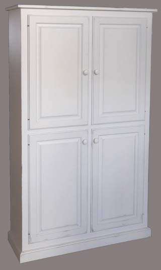4 Door Wide Pantry Cupboard