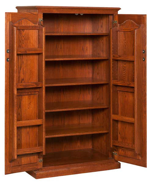 Pantry Cupboard with Spice Doors - Pantry Cabinets For All Amish Craftsman
