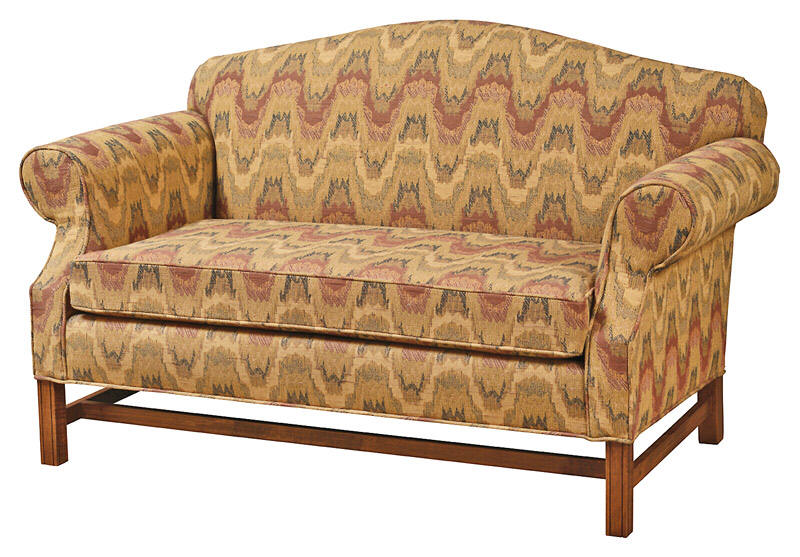 Country Town Amish Made Upholstered, Country Primitive Upholstered Furniture