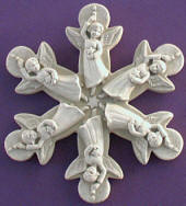 1025 Angel Snowflake