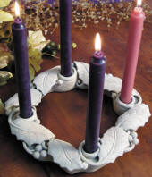 1097 Washington National Cathedral Advent Wreath