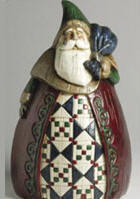 Santa Doorstop - Jim Shore 118831 Santa Doorstop Jim Shore Home & Garden - Doorstops Item # 118831<br> at Cool Collectibles