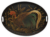 Oval Tray, Le Coq D' Or
