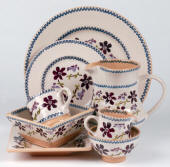 Clematis Nicholas Mosse Pottery & Dinnerware Handmade & decorated in County Kilkenny, Ireland