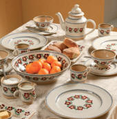 Old Rose Nicholas Mosse Pottery & Dinnerware Handmade & decorated in County Kilkenny, Ireland