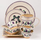 Pansy  Nicholas Mosse Pottery & Dinnerware  Handmade & decorated in County Kilkenny, Ireland