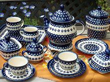 Zak?ady Ceramiczne Boleslawiec. Polish Stoneware - Plates - Dinnerware ... & Zaklady Ceramika Polish Pottery - Dinnerware