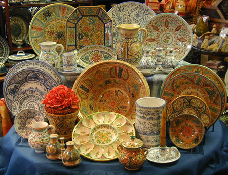 La Familia Cruz Hand Crafted Spanish Stoneware